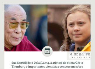 Dalai Lama e Greta Thunberg