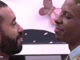 Gilberto e Lucas, do BBB21. (Crédito da Imagem: Mídia NINJA)
